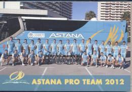 Cyclisme,serie Astana 2012 - Cycling