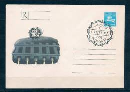 Lituania 1991 Intero Postale - Lithuania