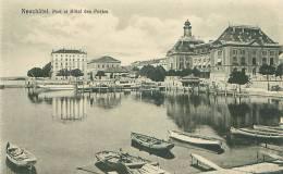 NEUCHATEL - Pont Et Hôtel Des Postes (Phototypie Co., Neuchâtel) - NE Neuchâtel