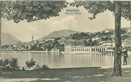 NEUCHATEL - Vue Sur L'Evole (Phototypie Co., Neuchâtel) - NE Neuchâtel