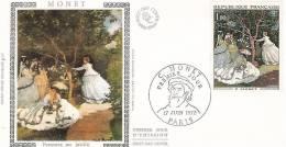 FDC  France 1972: Tableau De Claude Monet - Impressionisme