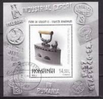 Roumanie - 2012 -  Fers à Repasser, Oblitere - Blocks & Sheetlets