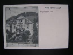CP Carte Postale Postkarte Villa Vahrenkampf Bad Nauheim (3) - Unclassified