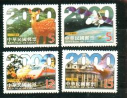 Republik China Taiwan 1999 Millennium Millenium 2000 - 1945-... République De Chine
