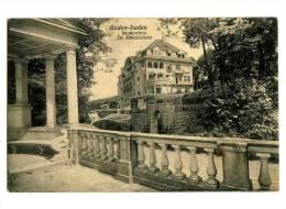 016930 - Sanatorium Dr. Heinsheimer - Baden-Baden