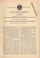 Original Patentschrift - P. Jantzen In Elbing , 1897 , Betonschicht Für Straßenpflaster , Strassenbau , Beton , Pflaster - Architektur