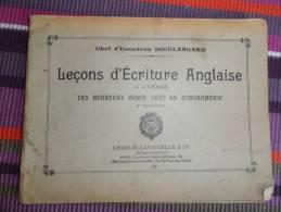 Leçons D'écriture Anglaise à L'usage Des Jeunes Gendarmes - Französisch