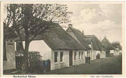 AK Nordseebad Büsum, Die Alte Dorfstraße 1931 - Büsum