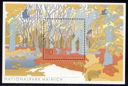 National Park Hainich - Germany 2000 - Souvenir Sheet Mi. Bl. 52 ** MNH - Unused Stamps