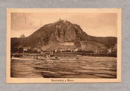 30657    Germania,  Drachenfels  A.  Rhein,  VG  1922 - Drachenfels