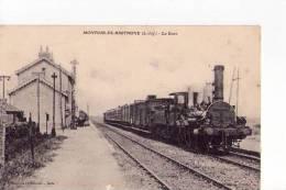 LOIRE ATLANTIQUE - Montoir De Bretagne - La Gare - France