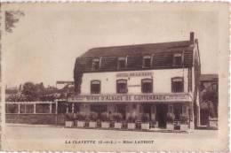 // 71 LA CLAYETTE - HOTEL LAURIOT ( HOTEL DE LA GARE , FACADE ) - France
