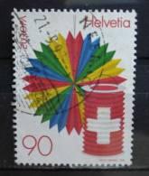 1998 Switzerland Europe,national Day Used/gebruikt - Zwitserland