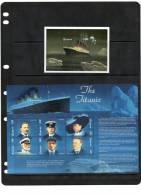 GUYANA, SHIPS,TITANIC, SHEETLET + S/SHEET , MNH - Boten
