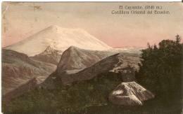 El Gayambe (5840 M.).Cordillera Oriental Del Ecuador - Ecuador