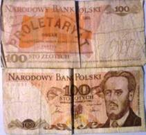 Lot: Polska 1982 X5 Bank Notes: 5000, 2000, 1000, 100 X 2  ZLOTYCH - Pologne