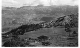 SEYNE LES ALPES - ALPES DE HAUTE PROVENCE  -  PEU COURANTE CPA DE 1945. - Other Municipalities