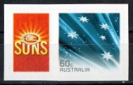 Australia 2011 Gold Coast Suns Football Club Left With 60c Blue Southern Cross Self-adhesive MNH - Ungebraucht