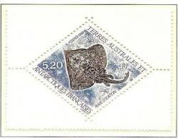 T.A.A.F.1999: Michel-No.389 Raie D'Eaton (Raja Eatonii)  ** MNH (cote 2.50 Euro) - Peces