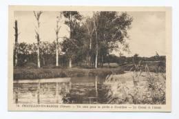 Chatillon-en-Bazois. Un Coin Pour La Pêche à Coeuillon. Le Canal.... - Chatillon En Bazois