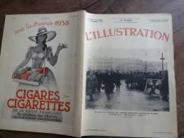 N° 4945 Du  11 -12- 1937 : L´ANTARES Coule;FAUX Et VRAIS Complots;Concours Monument  ;Fouilles St-Blaise; Mlle DEUTSCH - Journaux - Quotidiens