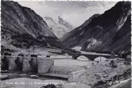 Plan Du Lac ; Le Barrage Et Les Fetoules - France