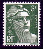 883 -  Marianne De Gandon 6f Vert - Francia