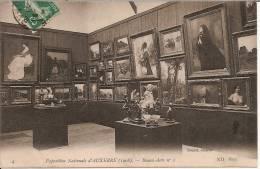 AUXERRE Exposition Nationale D´... (1908). - Beaux-Arts N° 1 - Auxerre