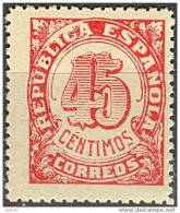 ESNE29-L1550TSC.España Spain Espagne.CIFRAS.1938 ( Ed NE 29**) Sin Charnela.LUJO - Sin Clasificación