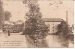 AUXERRE. - Moulin Du Batardeau  Pont Du Chemin De Fer De Gien - Auxerre