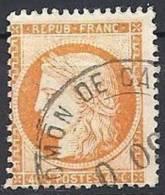 FRANCE - 40 C. Oblitération Espagnole ADMON DE CAMBIO TB - 1870 Siege Of Paris