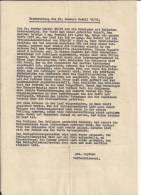 Fusil Lebel Analyse Par Un Adjudant Allemand En Allemand WWI Ww1 14-18 1914-1918 1wk - 1914-18