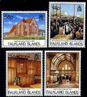 Falkland 1992 - Eglises - 4v Neufs*** (MNH) - Falkland