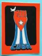 """"""" CUBA """" STICKER / ZELFKLEVER +/- 8.5 X 6.5 Cm. ( Zie Foto´s Voor Détails ) ! - Autres Collections"""