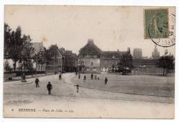 Cpa 62 Bethune - Place De Lille - Bethune
