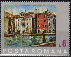 Architectur Venezia 1972 Rumänien 3059 Out Block 99 ** 5€ Gemälde Von Maler Petrrascu Art Bloc Painting Sheet Bf Romania - 1948-.... Republics
