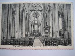 HALLE - Binnenzicht Der Basiliek - HAL - Intérieur De La Basilique - Halle