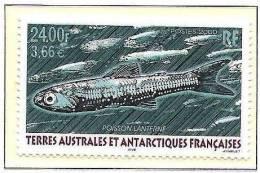 T.A.A.F.2000: Michel-No.418 Myctophum Sp ** MNH (cote 12.00 Euro) - Fische