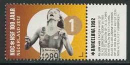 Nederland Netherlands Pays Bas 2012 Mi 2993 ** Ellen Van Langen - Olympic Games Barcelona 1992 - 100 Jaar NOC*NSF - Ongebruikt