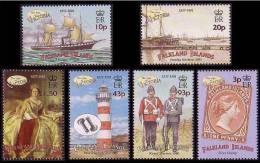 Falkland 2001 -  Ère Victorienne - 6v *** (MNH) Très Rare - Falkland
