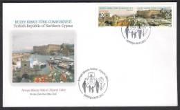 Turk Kibris 2012 EUROPA Visit North Cyprus, FDC 8-5-2012 - Europa-CEPT