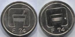 Jeton Token F 74 - Jetons & Médailles