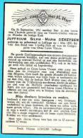 DEKEYSER Silvia Maria °1870 Leffinge +1941 Doodsprentje Image Mortuaire - Religión & Esoterismo