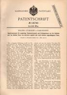 Original Patentschrift - W. Lückhoff In Karlshorst , 1900 , Orgel , Hamonium , Tasteninstrument !!! - Musikinstrumente