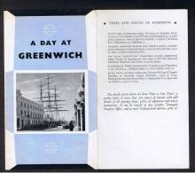 """RB 879 - 1968 London Transport 8 Page Folded Leaflet """"A Day At Greenwich"""" - Books, Magazines, Comics"""