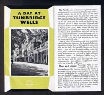 "RB 879 - 1969 London Transport 8 Page Folded Leaflet ""A Day At Tunbridge Wells"" Kent - Books, Magazines, Comics"
