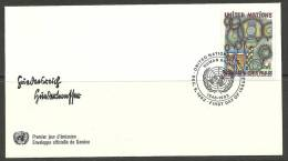United Nations Genf 09.12.1983 FDC Naciones Unidas UN Official First Day Cover Human Rights - Office De Genève