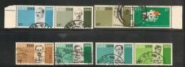 IRELAND - EIRE - 1966 MARCHING TO FREEDOM-  Yvert # 177/184 -  3 SE-TENANT PAIRS - # 181/2 Not Se-tenant  -  USED - Ireland