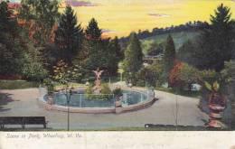 West Virginia Wheeling Scene In Park