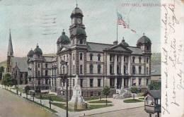 West Virginia Wheeling City Hall 1906